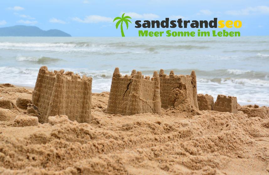 Sandburgen bauen als SandstrandSEO
