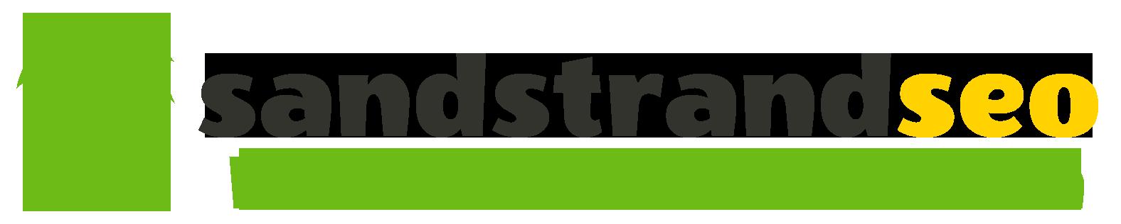 Logo SandstrandSEO mit Palme